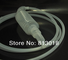 Wholesale 10pcs/lot 1.8m Practical Hand Manual Cars / Motorcycle/ Fish Tank Gas Fuel Oil Water Liquid Transfer Pump Tube