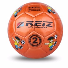 High Quality Official Size 2 Standard PU Soccer Ball Training Football Balls Indoor&Outdoor Training ball With Gift Net Needle(China)