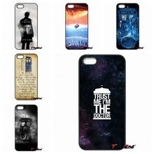 For iPhone 4 4S 5 5C SE 6 6S 7 Plus Galaxy J5 J3 A5 A3 2016 S5 S7 S6 Edge Tardis Doctor Who With David Tennant Phone Case