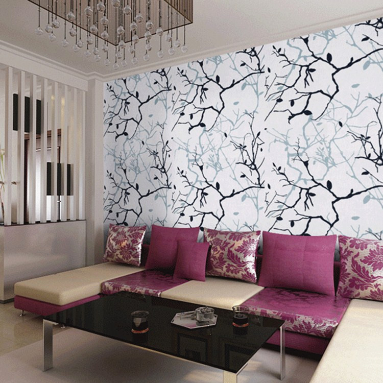 beibehang Tree roots Birch Tree Branches papel de parede 3d Wallpaper Dine Room Bath Room Wall Paper Mural Art Deco Wallcovering<br>