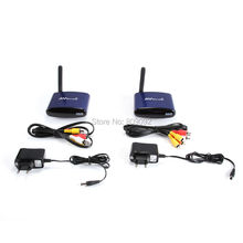 4 channel 5.8G Wireless AV Transmitter and Receiver A/V audio video sender 200m TV Signal receiver RCA transmitter