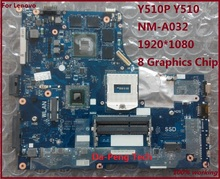 Computer motherboard For lenovo Y510P Y510 GT755 NM-A032 inventory motherboard The spot sale 100% work 1920*1080 HD screen