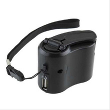 1pc Useful Emergency Charger USB Hand Crank Manual Dynamo For MP3 MP4 Mobile