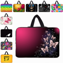 "9.7"" Netbook Zipper Cases Neoprene Protective Laptop Bag For Google Android Nexus 10 Tablet 10"" 10.1"" Notebook Bag + Hide Handle"