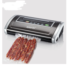 1pcs High Quality VS5500 Household Food Saver Vacuum Sealer Sealing System Food pack Free Gift Roll Bags(China)