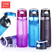 700ML Water Bottle Plastic Sport Water Bottles My Bike Bottle Tritan Bicycle Cycling Sports Tumbler With Straw Brand Kettle(China)