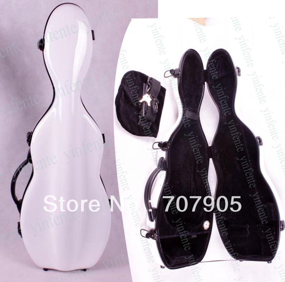 Violin Case 4/4 Glass fiber case Waterproof Light Durable Dropshipping Wholesale White<br><br>Aliexpress