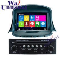 "7"" Professional Wince Car Entertainment System Multimedia Player For Peugeot 206 Auto GPS Navigation 8GB Free Maps"