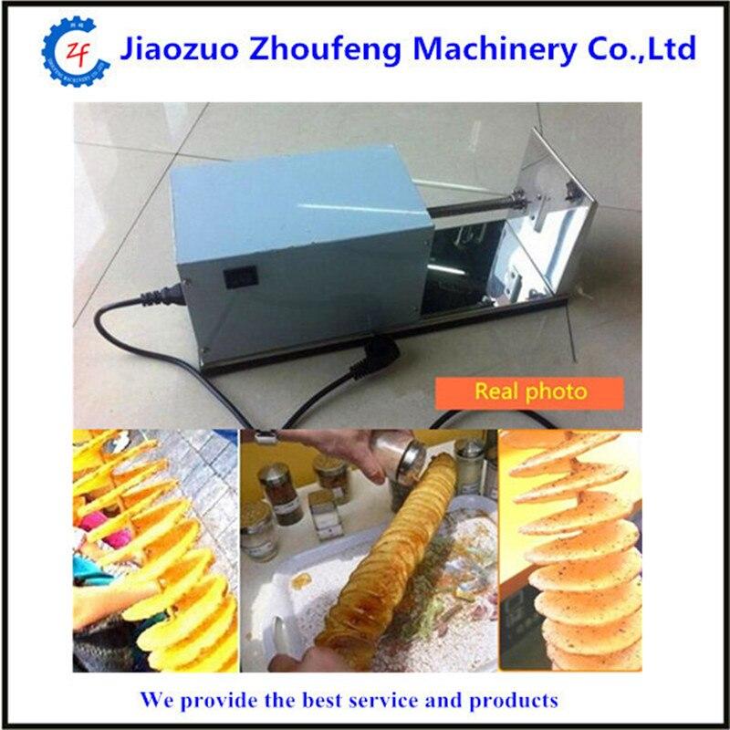 Electric sausage hot dog spiral twister tornado potato cutter curly fries cutter   ZF<br><br>Aliexpress