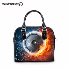 WHOSEPET Sound Shop Online Handbags Punk Tote Bolsas Mini Crossbody Purse Fashion Totes for Teenager Girls Single Shoulder Bags