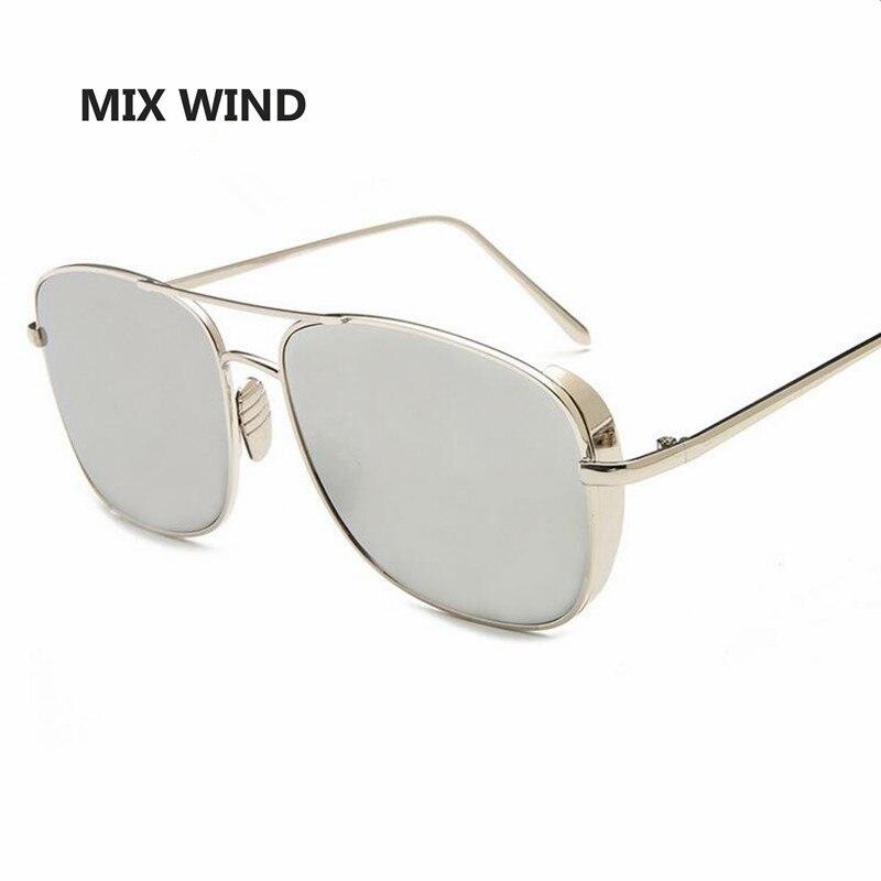 Mix wind Fashion Luxury Sunglasses 2017 Newest Brand Designer Metal Rectangle Sun glasses Men Sunglasses Gafas de sol mujer<br><br>Aliexpress