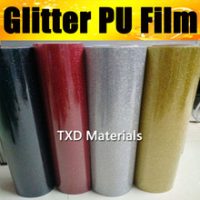 Premium quality glitter transfer PU FILM, glitter transfer vinyl for heat press machine for shirts transfer 50X100CM(1 Yard)