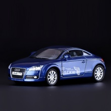 High Simulation Exquisite Diecasts&Toy Vehicles: KiNSMART Car Styling 2008 Audi TT Sports Car 1:32 Alloy Diecast Model Toy Car