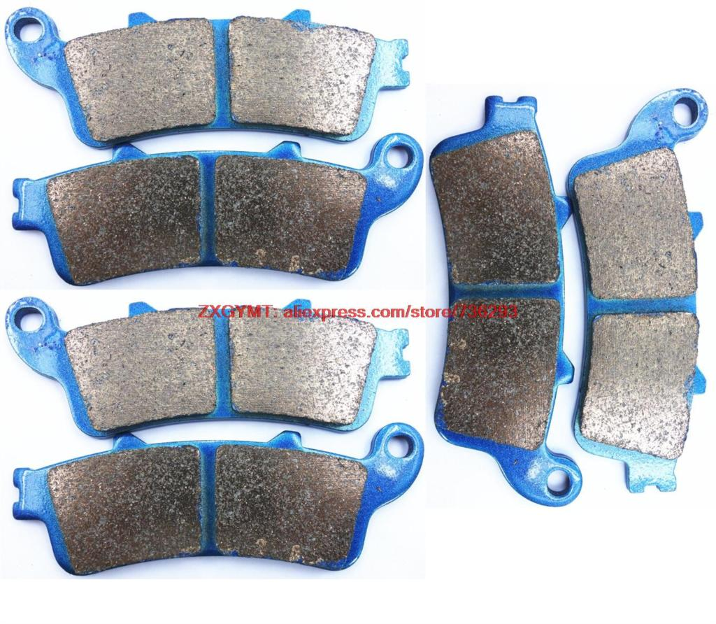 Sinter Motorcycle Brake Shoe Pads Set for HONDA ST1100 ST 1100 A6 ABS-TCS-CBS 1996 &amp; up<br>