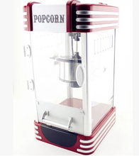 2016 New Dhl/fedex/ems Free Shipping! Super Retro Commercial Popcorn Machine Pipoca Pop Corn Making 220v&ce/gs Certification(China)