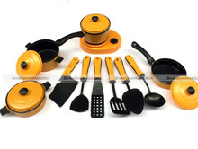 2 Colors 11Pcs Set Kid Children Kitchen Utensil Accessories Cooking Play Toy Cookware 72217060 KTK