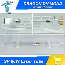 SP 60W Co2 laser tube for Co2 Laser engraving Machine