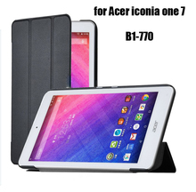 case for ACER B1-770 Iconia one 7 B1-770 7'' PU leather folio protective funda cover case for Acer tablet 7