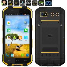 2017 Upgrade S28 Waterproof Phone Android 6.0 Rugged Smartphone China Phone 4G LTE Octa Core Dual Sim GPS wireless charger(China)