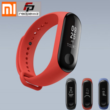 2018 New Xiaomi Mi Band 3 Smart Bracelet 0.78 OLED TouchScreen 5ATM Water Resistant Fitness Tracker Pedometer Heart Rate Monitor