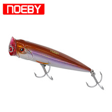 NOEBY Popper Fishing Lures 140mm/40g Topwater Hard Bait France VMC Para Pesca Leurre Dur Peche Iscas Artificial Wobber