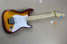 Free shipping new ST scalloped big headstock STAR FINGERBOARD stratocaster electric guitar(China)