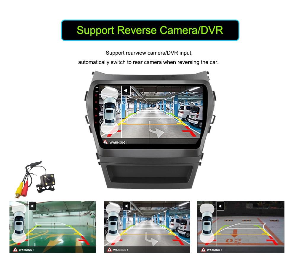 Hyundai Santafe (IX45) 9 Android 6.0.1 OS 4 16 DVD GPS BT MP3