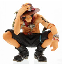 15cm Height One Piece OP Action Figures ACE PVC Collection Doll Toy Home Table Decoration Gift