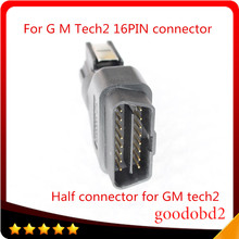 For G M  TECH-2 Diagnostic Tool TECH2 OBD II 16 PIN OBD2 Adapter With No. 3000098 OBD 2 Connector OBDII Auto Scanner tech 2 tool