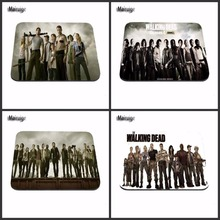 Vintage Funny The Walking Dead with Box Packed Rubber aming Gaming Mouse Pad 180x220x20mm Loptop Computer Keyboard Gamer Pad