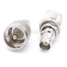 RF connector PL259 UHF to BNC Q9 adapter with PL259 UHF male plug to BNC female jack connector Free shipping