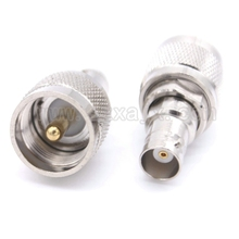 RF connector PL259 UHF to BNC Q9 adapter with PL259 UHF male plug to BNC female jack connector Free shipping(China)