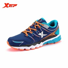 XTEP Brand Profession Running Shoes 2016 Autumn Winter Men's Sports Shoes Damping Cushioning Athletic Sneakers 984319119228