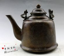 Bronze pots of copper sculpture to mention Liang Hu teapot Decoration beautifully build antique copper pot boutique