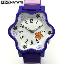 WILLIS Girls Kids Watches Brand Children Quartz Waterproof Watch Light Silicone Watchband Hot Sale Cheap Girls Gift Wristwatches
