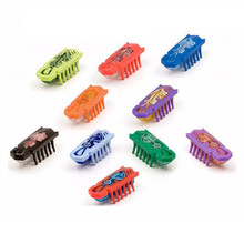 5pcs/lot Nano bug electronic pet robotic insect toys mini robot child baby Nano worm fighting insect reptiles Shaking dog toy(China)