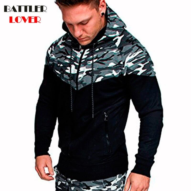 2018 Cardigan Hoodies Men Hooded Hoodies Mens Patchwork Sweatshirts Hip Hops Homme Casual Mans Hombre Hoody Military Jackets