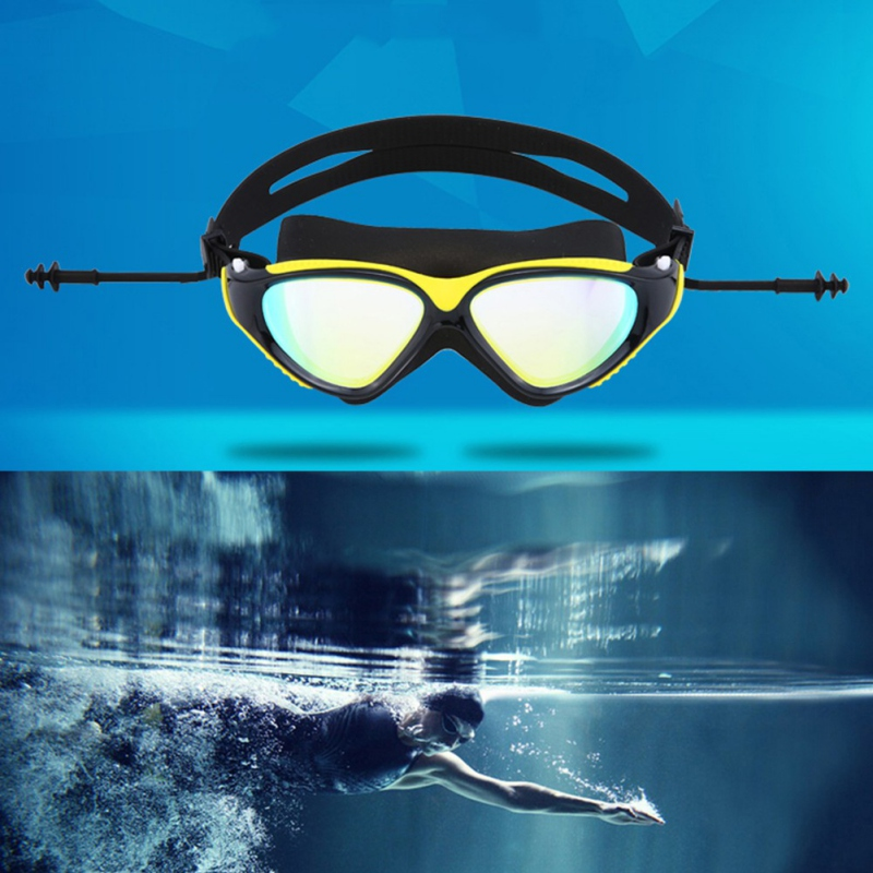 Goggles Professional Children Silicone Swimming Goggles Anti-fog UV Swimming Glasses for Men Women Eyewear 28