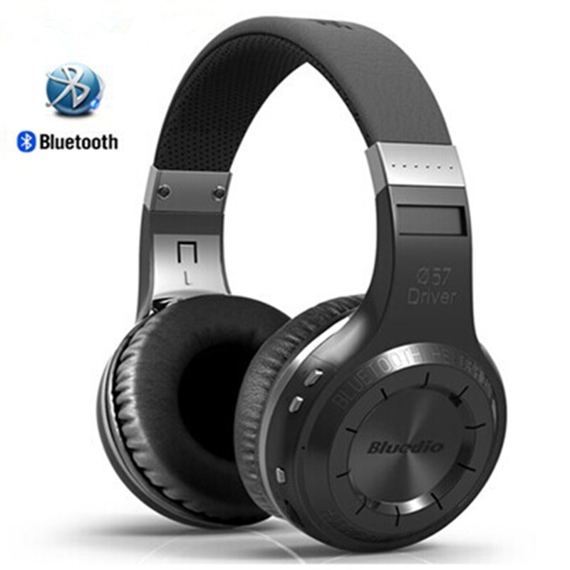 New Headset Bluedio HT Headphones Bests Bluetooth Version 4.1 Wireless Headset Brand Mp3 Music Stereo Earphones With Microphone<br><br>Aliexpress