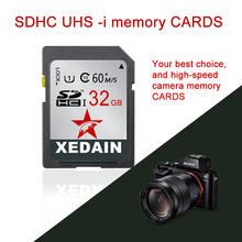 Memory SD Card UHS 8 16 32 64 GB For Digital SLR Camera Camcorder DV Free Shipping XEDAIN Brand Original Memory Card Customized