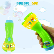 1pc New Summer Funny Magic Bubble Blower Machine Bubble Maker Mini Fan Kids Outdoor Toys for girls boys children(China)