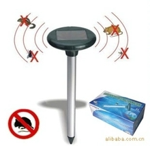 Solar outdoor garden courtyard farmland ultrasonic sound waves ellobius talpinus rat snake killing machine