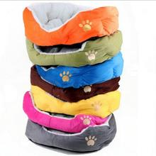NEW 7 Colors 50CM /60CM Soft Warm Fleece Pet Puppy Cat Dog Bed Puppy Dog Cat Kitten Pet Bed Pad Cushion Basket Sofa Couch Mat