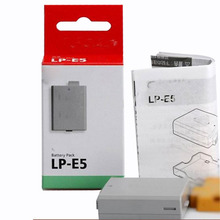 LP-E5 LP E5 LPE5 Rechargeable Digital Camera Battery Pack For Canon EOS 450D 500D 1000D KISS X2 X3 F Rebel XS XSi T1i