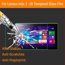"Newest Premium Anti-shatter tempered glass film For Lenovo Miix 2 10-Zth 10.1"" tablet LCD Screen Protector Film"
