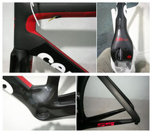 2017 Newest design GS5 carbono Bicycle aerodynamics frameset full carbon road bike frame with BBright adapter
