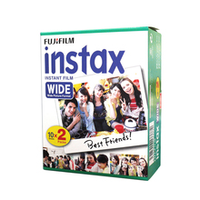 Fujifilm Instax Wide Instant White Edge 20 Film For Fuji Instax Camera 100 200 210 300 500AF