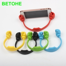 BETOHE Thumb Phone Holder Tablet Mount Stand Universal Mobile Cell Phone Desk Holder for IPhone 5 6 6s 7 plus Mini Xiaomi