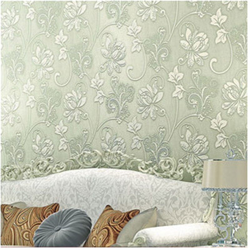 beibehang - Luxury Europe Home Decor Thicken Wallpaper 3D Durable Non-woven Wallpapers Rural Floral Wall Paper Mural Papel de<br>
