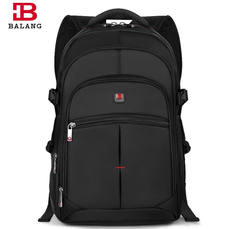BALANG Brand Fashion Korean Style Unisex Men College School Bag Teenage Boy Travel Waterproof Nylon Large Capacity Backpacks<br>